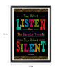 Lab No.4 - The Quotography Department Paper & PU Frame 11.9 x 16.7 Inch Alfred Brendel Paper Framed poster
