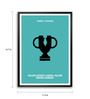 Lab No.4 - The Quotography Department Paper & PU Frame 11.9 x 16.7 Inch Robert Kiyosaki Quote Framed poster