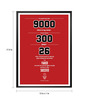 Lab No.4 - The Quotography Department Paper & PU 13 x 1 x 17.5 Inch Michael Jordan Inspirational American Professional Basketball Wall Decor Poster
