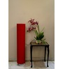 Lamp House Red Poly Cotton Floor Lamp
