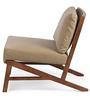 Langston Arm Chair in Mushroom Beige Colour by HomeHQ