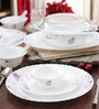La Opala Diva Purple Haze Opalware Dinner Set - Set of 35