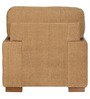 Laos One Seater Sofa in Brown Colour by @home