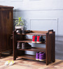 Elkhorn Shoe Rack in Provincial Teak Finish by Woodsworth