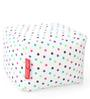 Large Cotton Canvas Star Design (Square Shaped) Ottoman Cover Only by Style Homez
