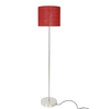 Adria Floor Lamp in Red by CasaCraft