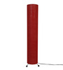 Abrigos Floor Lamp in Red by CasaCraft