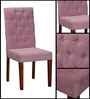 Ballans Button Chair in Purple Color by Amberville
