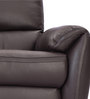 Laze Three Seater Recliner in Brown Colour by Durian
