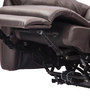 Laze Two Seater Recliner in Brown Colour by Durian