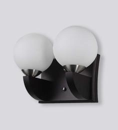 LeArc Designer Lighting Contemporary Glass Metal Wood Wall Light WL1538