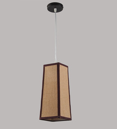 LeArc Designer Lighting HL3719 Light Brown Pendant