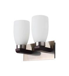LeArc Designer Lighting Contemporary Glass Metal Wood Wall Light WL1422
