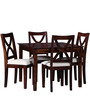 Santa Fe Four Seater Dining Set in Provincial Teak Finish by Woodsworth