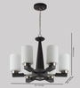 LeArc Designer Lighting CH112 4 lights Chandelier