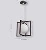 Learc Designer Lighting HL3672 S White Glass Pendant