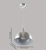 LeArc Designer Lighting HL3726 Silver Pendant