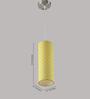 LeArc Designer Lighting HL3729 Yellow Pendant