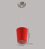 LeArc Designer Lighting HL3735 Red Pendant