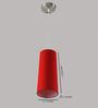 LeArc Designer Lighting HL3738 Red Pendant