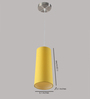 LeArc Designer Lighting HL3740 Yellow Pendant