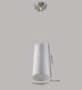 Learc Designer Lighting Hl3742 White Fabric Pendant
