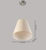 LeArc Designer Lighting HL3749 Off White Pendant