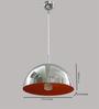LeArc Designer Lighting HL3757 Orange Pendent Light