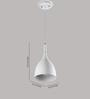 LeArc Designer Lighting HL3775 White Pendant