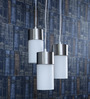 LeArc Designer Lighting Satin &  Nickel Mild Steel Pendant