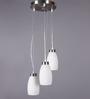 LeArc Designer Lighting Satin & Nickel Mild Steel Pendant