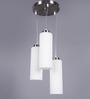 LeArc Designer Lighting Satin & Nickel Mild Steel LED Pendant