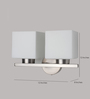 LeArc Designer Lighting WL1782 Upward 2 Shades Wall Mounted Light