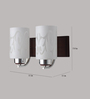 LeArc Designer Lighting WL1790 Upward 2 Shades Wall Mounted Light