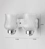 LeArc Designer Lighting WL1802 Upward 2 Shades Wall Mounted Light