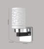Learc Designer Lighting WL1805 Single Shade Uplighter Wall Mounted Light