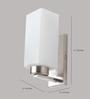 Learc Designer Lighting Wl1819 Single Shade Uplighter Wall Mounted Light