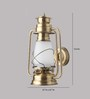 LeArc Designer Lighting WL1826 Brass Wall Light