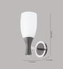 LeArc Designer Lighting WL1845 Iron Wall Light