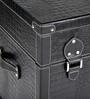 Genuine Leather Trunk - Black By Studio Ochre