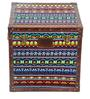 Genuine Leather Trunk - Multicolor By Studio Ochre