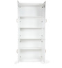Legacy Two Door Bookcase in White Colour by HomeTown