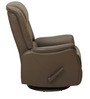 Leisure Man Genuine Leather Recliner Chair in Brown Colour by Royal Oak