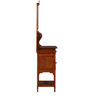 Levien Dressing Table in Honey Oak Finish by Amberville