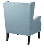 Lexina Wingback Chair in Blue Colour by Madesos