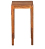 Liberty Square Side Table with Walnut Finish by @home