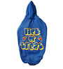 Lick Or Treat Dog Hoodie in Blue (Size 12)