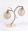 Opeth Table Lamp in Gold by Bohemiana