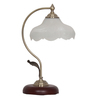Claire Table Lamp in White by Amberville