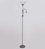 LightsPro White Plastic Floor Lamp